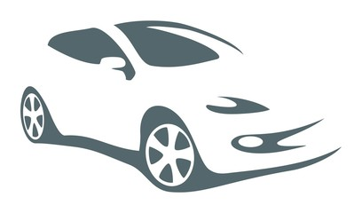 modern car vector symbol