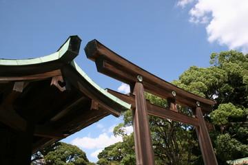 Porte du Meiji-jingū