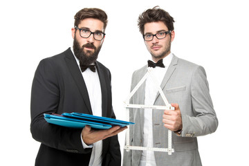 2 Businessmänner