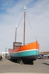 Boot op Scheveningen