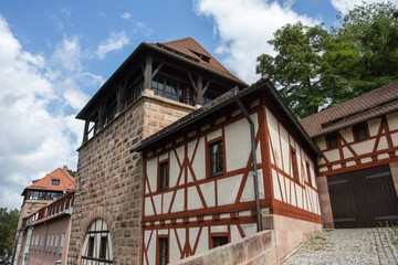nuernberg medieval city wall