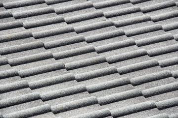 Grey tiles roof