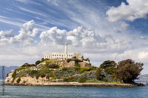 Alcatraz Island in San Francisco, USA. - 69377446