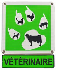 panneau vétérinaire