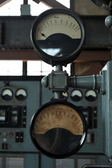 Control Room Handles And Displays
