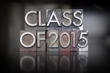 Class of 2015 Letterpress