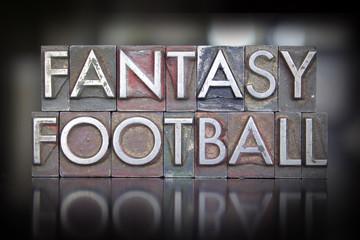 Fantasy Football Letterpress