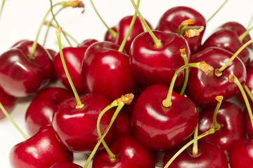 sweet red cherry backgound