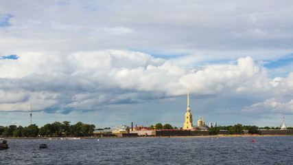 Saint-Petersburg, Peter and Paul fortress