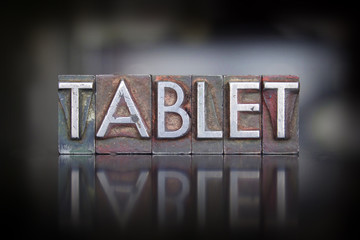 Tablet Letterpress