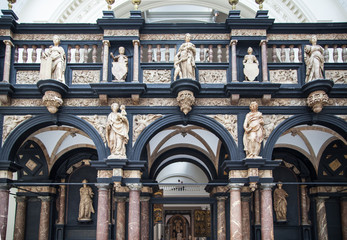 London, sculptures and reliefs in Victoria and Albert Museum.