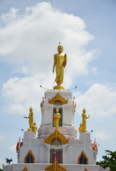 Buddha Statue image with Clouds and Sky Background