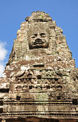 Face of Bayon temple