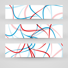 Vector banner set for your design