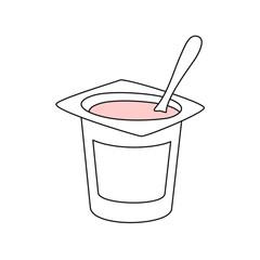 Yogur LINEAS FRESA