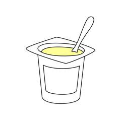 Yogur LINEAS PLÁTANO-LIMÓN