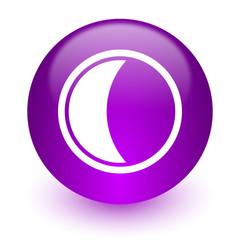 moon internet icon