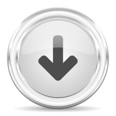 download arrow internet icon