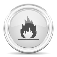 flame internet icon