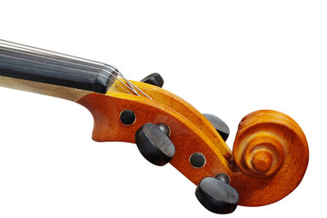 Part of a violin