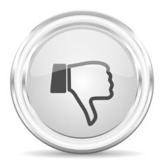 dislike internet icon