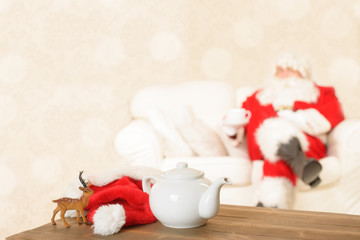 Cup Of Tea For Santa