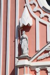 Скульптура на Чесменской церкви Св. Иоанна Предтечи
