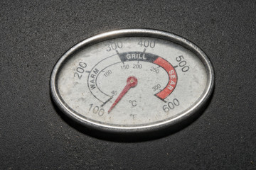 barbecue termometer heat indicator
