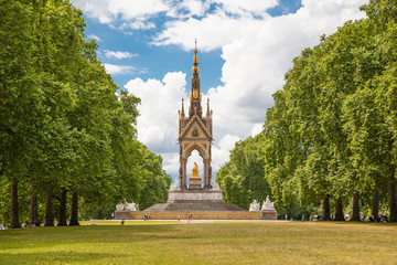 London, Prince Albert monument in Hyde park
