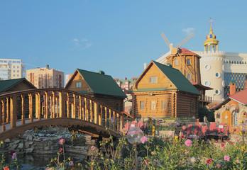 """""""Tugan Avyly"""" complex (""""native village""""). Kazan, Tatarstan"""