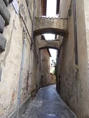Pasaje en Orvieto