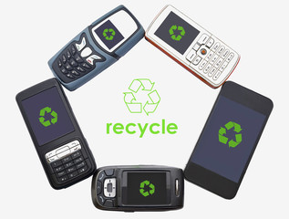 Old Mobile Phones For Recycling