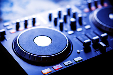 modern dj console