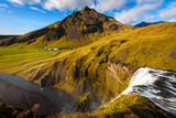 Waterfall, Skogafoss, Iceland poster