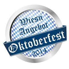 Button Oktoberfest 2014 - Wiesn Angebot