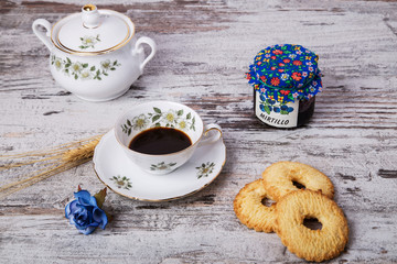 Caffè tazze di porcellana