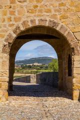 Medieval arch building