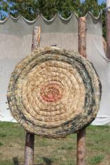 traditionelle Zielscheibe Bogenschießen