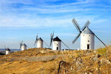 Windmills in Consuegra.