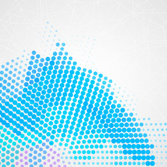 Abstract colorful creative circles background design