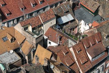panorama de toitures alsaciennes kazy