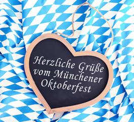 Herzliche Grüße vom Münchener Oktoberfest