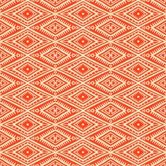 tribal orange and yellow pattern
