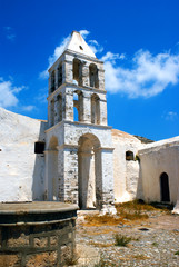 Old church at Kythera island, Greece