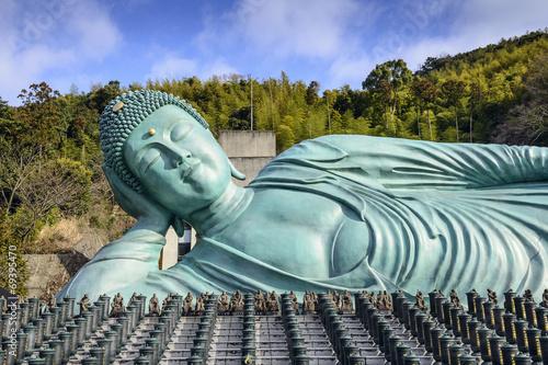 Foto op Plexiglas Japan Reclining Buddha of Fukuoka, Japan