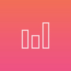 Bar / graph - Finely crafted line icons