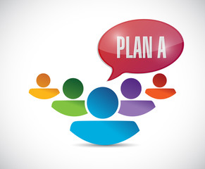 plan a team illustration design