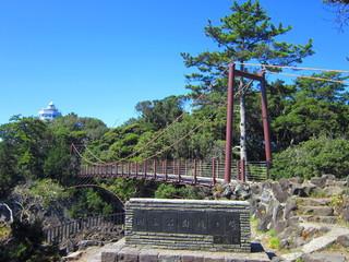 城ヶ崎海岸 門脇吊橋