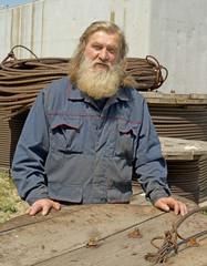 Male port worker