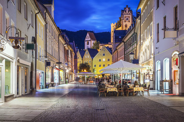 Fussen, Germany Old Townscape